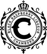 C  · BLACK RASPBERRY LIQUEUR · CHAMBORD