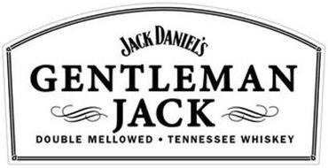 JACK DANIEL'S GENTLEMAN JACK DOUBLE MELLOWED · TENNESSEE WHISKEY