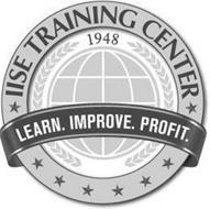 IISE TRAINING CENTER 1948, LEARN. IMPROVE. PROFIT.