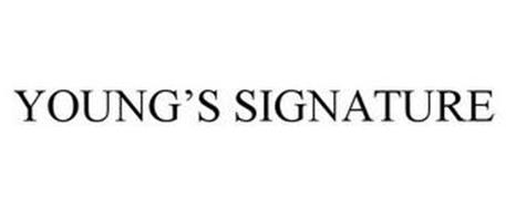 YOUNG'S SIGNATURE
