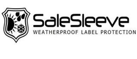 SALESLEEVE WEATHERPROOF LABEL PROTECTION