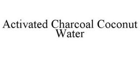 ACTIVATED CHARCOAL COCONUT WATER