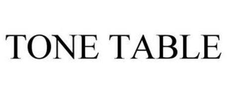 TONE TABLE