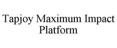 TAPJOY MAXIMUM IMPACT PLATFORM