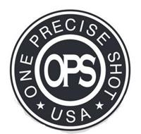 OPS ONE PRECISE SHOT * USA*
