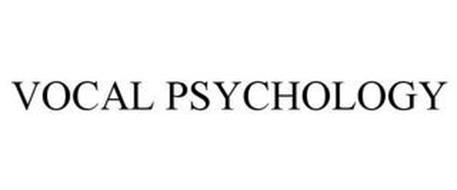 VOCAL PSYCHOLOGY