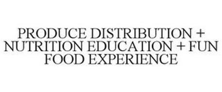 PRODUCE DISTRIBUTION + NUTRITION EDUCATION + FUN FOOD EXPERIENCE