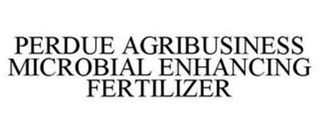 PERDUE AGRIBUSINESS MICROBIAL ENHANCING FERTILIZER
