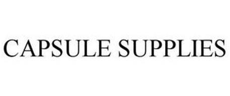 CAPSULE SUPPLIES