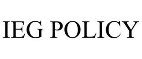 IEG POLICY