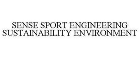 SENSE SPORT ENGINEERING SUSTAINABILITY ENVIRONMENT