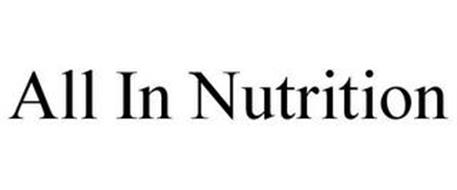 ALL IN NUTRITION