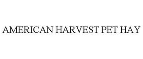 AMERICAN HARVEST PET HAY