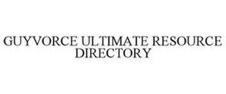 GUYVORCE ULTIMATE RESOURCE DIRECTORY