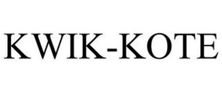 KWIK-KOTE