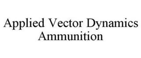 APPLIED VECTOR DYNAMICS AMMUNITION