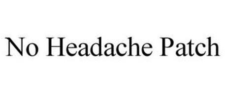 NO HEADACHE PATCH