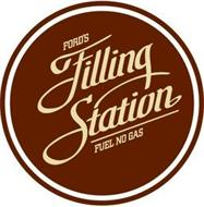 FORD'S FILLING STATION FUEL NO GAS
