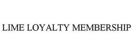LIME LOYALTY MEMBERSHIP