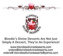 BLONDIE'S DIVINE DESSERTS