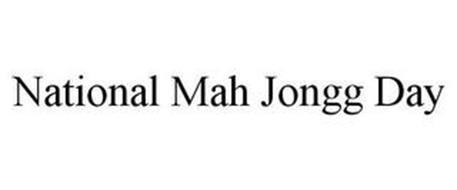 NATIONAL MAH JONGG DAY