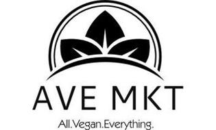 AVE MKT ALL. VEGAN. EVERYTHING.