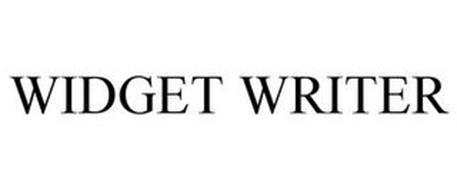 WIDGET WRITER