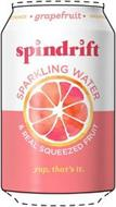 SPINDRIFT * GRAPEFRUIT * UNSWEETENED SPARKLING WATER & REAL SQUEEZED FRUIT YUP, THAT'S IT.