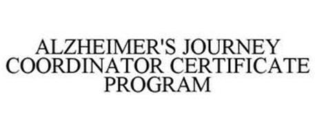 ALZHEIMER'S JOURNEY COORDINATOR CERTIFICATE PROGRAM