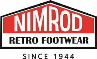 NIMROD RETRO FOOTWEAR SINCE 1944