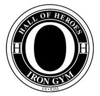 HALL OF HEROES IRON GYM HH IV·XIII