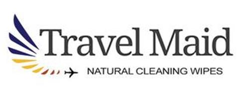 TRAVEL MAID NATURAL CLEANING WIPES