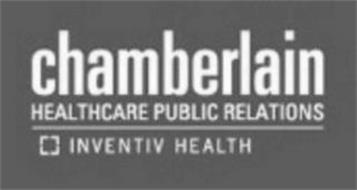 CHAMBERLAIN HEALTHCARE PUBLIC RELATIONS INVENTIV HEALTH