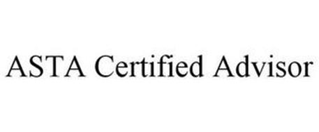 ASTA CERTIFIED ADVISOR