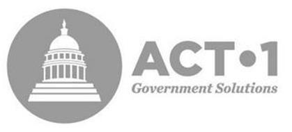 ACT·1 GOVERNMENT SOLUTIONS