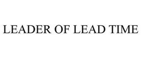 LEADER OF LEAD TIME
