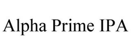 ALPHA PRIME IPA
