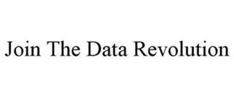 JOIN THE DATA REVOLUTION