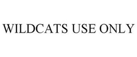 WILDCATS USE ONLY
