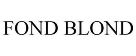 FOND BLOND