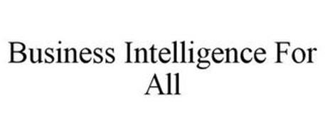 BUSINESS INTELLIGENCE FOR ALL