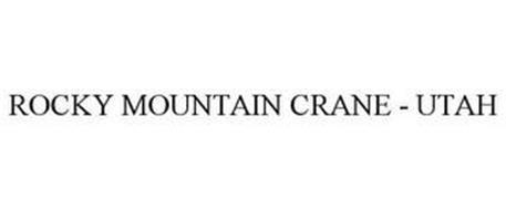ROCKY MOUNTAIN CRANE UTAH