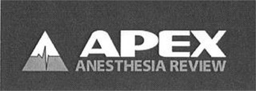 APEX ANESTHESIA REVIEW