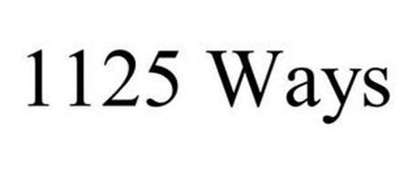 1125 WAYS