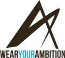 A WEAR YOUR AMBITION