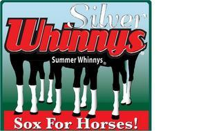SILVER WHINNYS SUMMER WHINNYS SOX FOR HORSES!