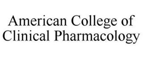 AMERICAN COLLEGE OF CLINICAL PHARMACOLOGY