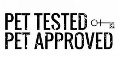 PET TESTED PET APPROVED