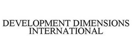 DEVELOPMENT DIMENSIONS INTERNATIONAL
