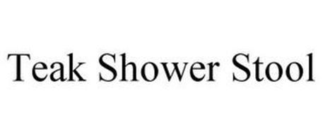 TEAK SHOWER STOOL